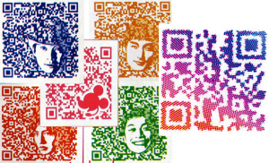 Augmented Reality QR-Code Beispiel